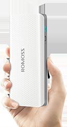 Внешние аккумуляторы ROMOSS доступны всем!
